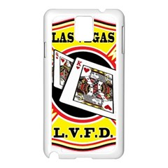 Las Vegas Fire Department Samsung Galaxy Note 3 N9005 Case (white) by allthingseveryday