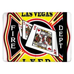 Las Vegas Fire Department Samsung Galaxy Tab Pro 12 2  Flip Case by allthingseveryday