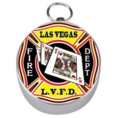 Las Vegas Fire Department Silver Compasses by allthingseveryday