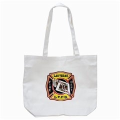 Las Vegas Fire Department Tote Bag (white) by allthingseveryday