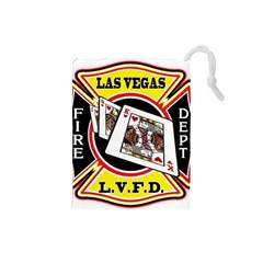 Las Vegas Fire Department Drawstring Pouches (small)  by allthingseveryday