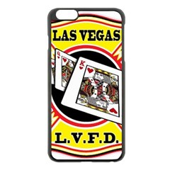 Las Vegas Fire Department Apple Iphone 6 Plus/6s Plus Black Enamel Case by allthingseveryday