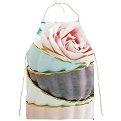 Tea Cups Full Print Aprons by 8fugoso