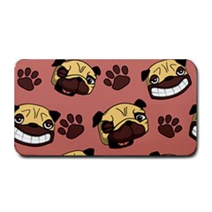 Happy Pugs Medium Bar Mats by allthingseveryone