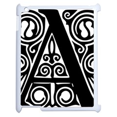 Alphabet Calligraphy Font A Letter Apple Ipad 2 Case (white) by Celenk