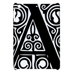Alphabet Calligraphy Font A Letter Apple Ipad Mini Hardshell Case