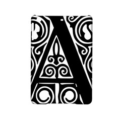 Alphabet Calligraphy Font A Letter Ipad Mini 2 Hardshell Cases by Celenk