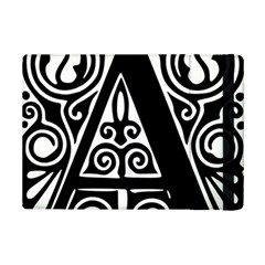 Alphabet Calligraphy Font A Letter Ipad Mini 2 Flip Cases by Celenk