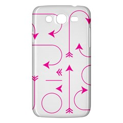 Arrows Girly Pink Cute Decorative Samsung Galaxy Mega 5 8 I9152 Hardshell Case  by Celenk