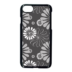 Floral Pattern Floral Background Apple Iphone 7 Seamless Case (black) by Celenk