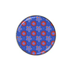 Seamless Tile Repeat Pattern Hat Clip Ball Marker by Celenk