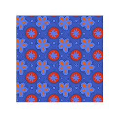 Seamless Tile Repeat Pattern Small Satin Scarf (square)
