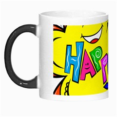 Happy Happiness Child Smile Joy Morph Mugs by Celenk