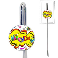 Happy Happiness Child Smile Joy Book Mark by Celenk