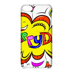 Happy Happiness Child Smile Joy Apple Ipod Touch 5 Hardshell Case With Stand by Celenk