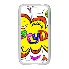 Happy Happiness Child Smile Joy Samsung Galaxy S4 I9500/ I9505 Case (white) by Celenk