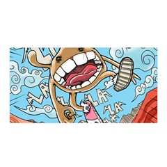 Illustration Characters Comics Draw Satin Wrap by Celenk