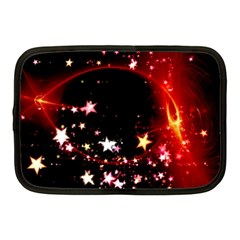 Circle Lines Wave Star Abstract Netbook Case (medium)  by Celenk