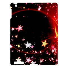 Circle Lines Wave Star Abstract Apple Ipad 3/4 Hardshell Case by Celenk