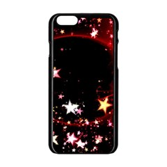 Circle Lines Wave Star Abstract Apple Iphone 6/6s Black Enamel Case by Celenk