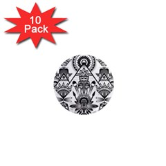 Ancient Parade Ancient Civilization 1  Mini Magnet (10 Pack)