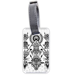Ancient Parade Ancient Civilization Luggage Tags (one Side)  by Celenk