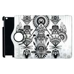 Ancient Parade Ancient Civilization Apple Ipad 2 Flip 360 Case by Celenk