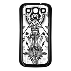Ancient Parade Ancient Civilization Samsung Galaxy S3 Back Case (black) by Celenk