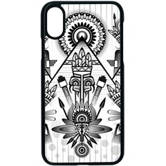 Ancient Parade Ancient Civilization Apple Iphone X Seamless Case (black) by Celenk