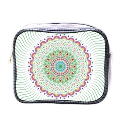 Flower Abstract Floral Mini Toiletries Bags by Celenk