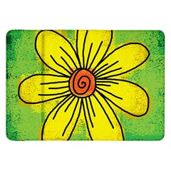 Flower Cartoon Painting Painted Samsung Galaxy Tab 8 9  P7300 Flip Case by Celenk