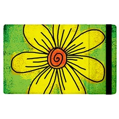 Flower Cartoon Painting Painted Apple Ipad Pro 9 7   Flip Case by Celenk