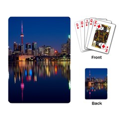 Buildings Can Cn Tower Canada Playing Card by Celenk