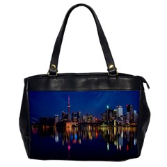 Buildings Can Cn Tower Canada Office Handbags by Celenk