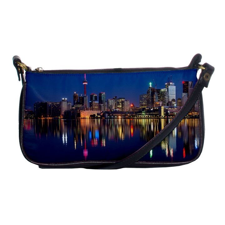 Buildings Can Cn Tower Canada Shoulder Clutch Bags