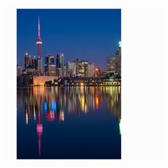 Buildings Can Cn Tower Canada Small Garden Flag (two Sides) by Celenk