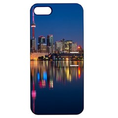 Buildings Can Cn Tower Canada Apple Iphone 5 Hardshell Case With Stand