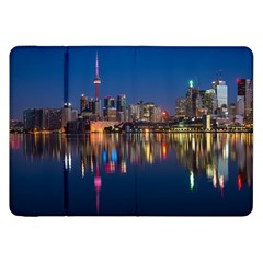 Buildings Can Cn Tower Canada Samsung Galaxy Tab 8 9  P7300 Flip Case by Celenk
