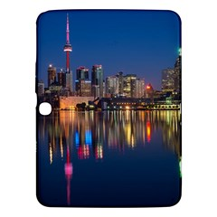 Buildings Can Cn Tower Canada Samsung Galaxy Tab 3 (10 1 ) P5200 Hardshell Case  by Celenk