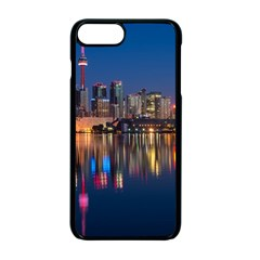 Buildings Can Cn Tower Canada Apple Iphone 7 Plus Seamless Case (black)