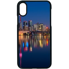 Buildings Can Cn Tower Canada Apple Iphone X Seamless Case (black) by Celenk