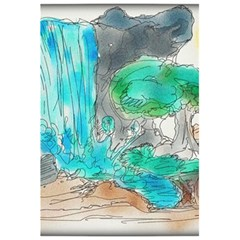 Doodle Sketch Drawing Landscape 5 5  X 8 5  Notebooks by Celenk