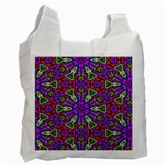 Seamless Tileable Pattern Design Recycle Bag (two Side)  by Celenk