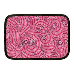 Pattern Doodle Design Drawing Netbook Case (medium)  by Celenk