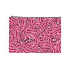 Pattern Doodle Design Drawing Cosmetic Bag (large)  by Celenk