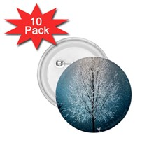 Winter Wintry Snow Snow Landscape 1 75  Buttons (10 Pack) by Celenk
