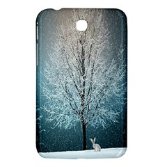 Winter Wintry Snow Snow Landscape Samsung Galaxy Tab 3 (7 ) P3200 Hardshell Case  by Celenk