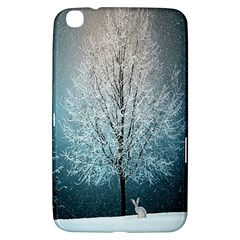 Winter Wintry Snow Snow Landscape Samsung Galaxy Tab 3 (8 ) T3100 Hardshell Case  by Celenk