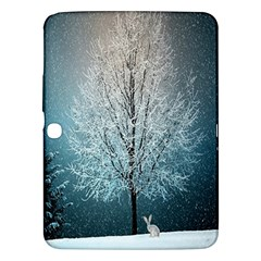 Winter Wintry Snow Snow Landscape Samsung Galaxy Tab 3 (10 1 ) P5200 Hardshell Case  by Celenk