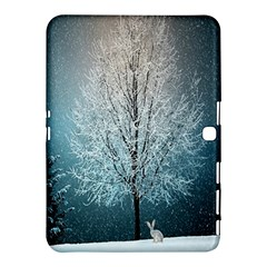 Winter Wintry Snow Snow Landscape Samsung Galaxy Tab 4 (10 1 ) Hardshell Case  by Celenk